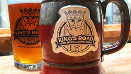 King's Road glasses of beer
