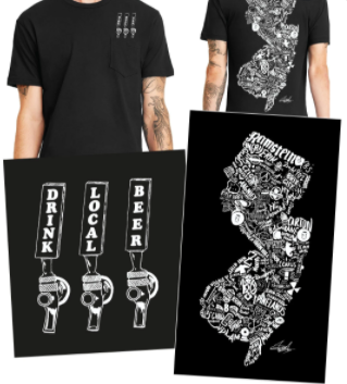 T-shirts with graphics